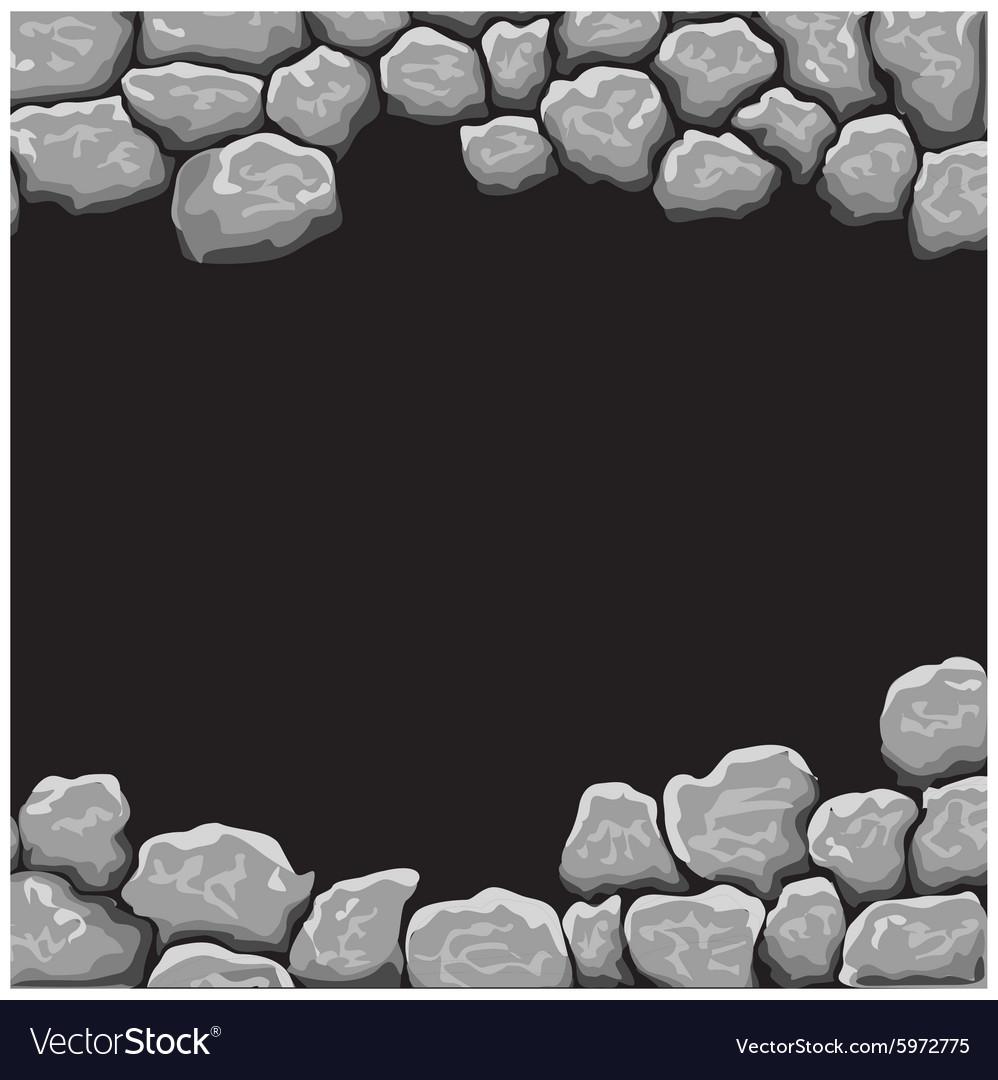 Stone Background Royalty Free Vector Image Vectorstock