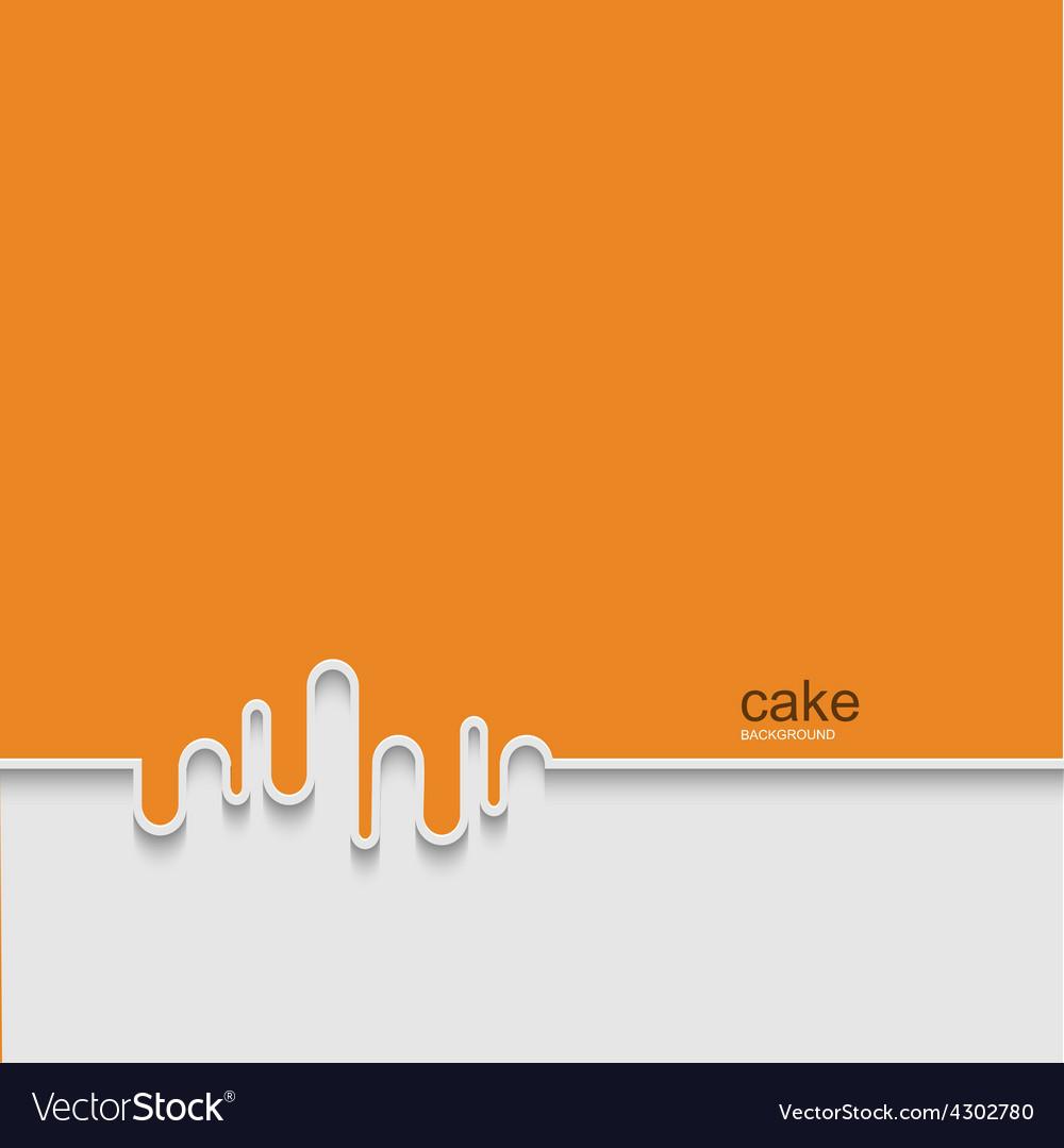 Modern cake background design