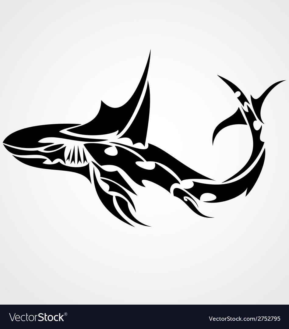 Shark Tattoo Design