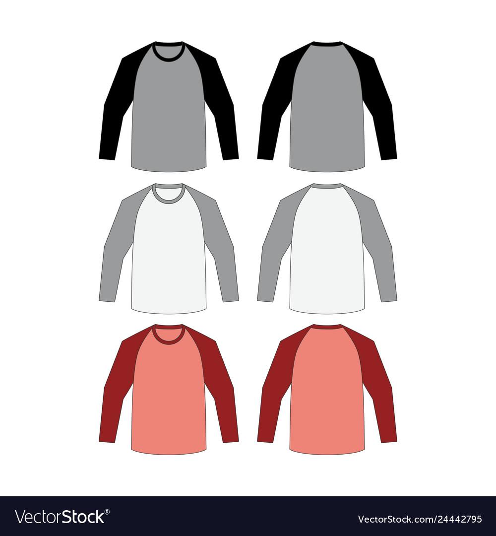 T-shirt long raglan