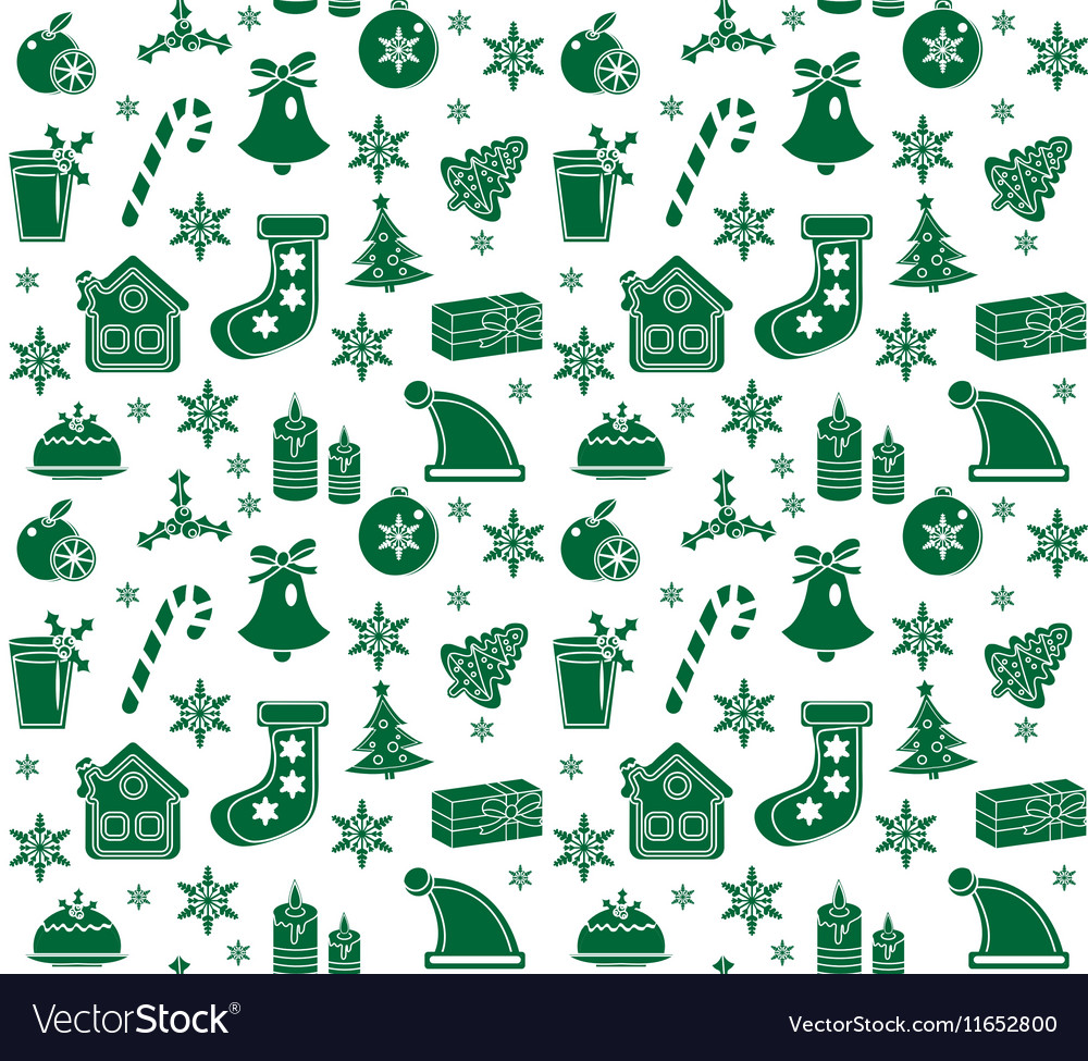 Christmas seamless pattern background texture