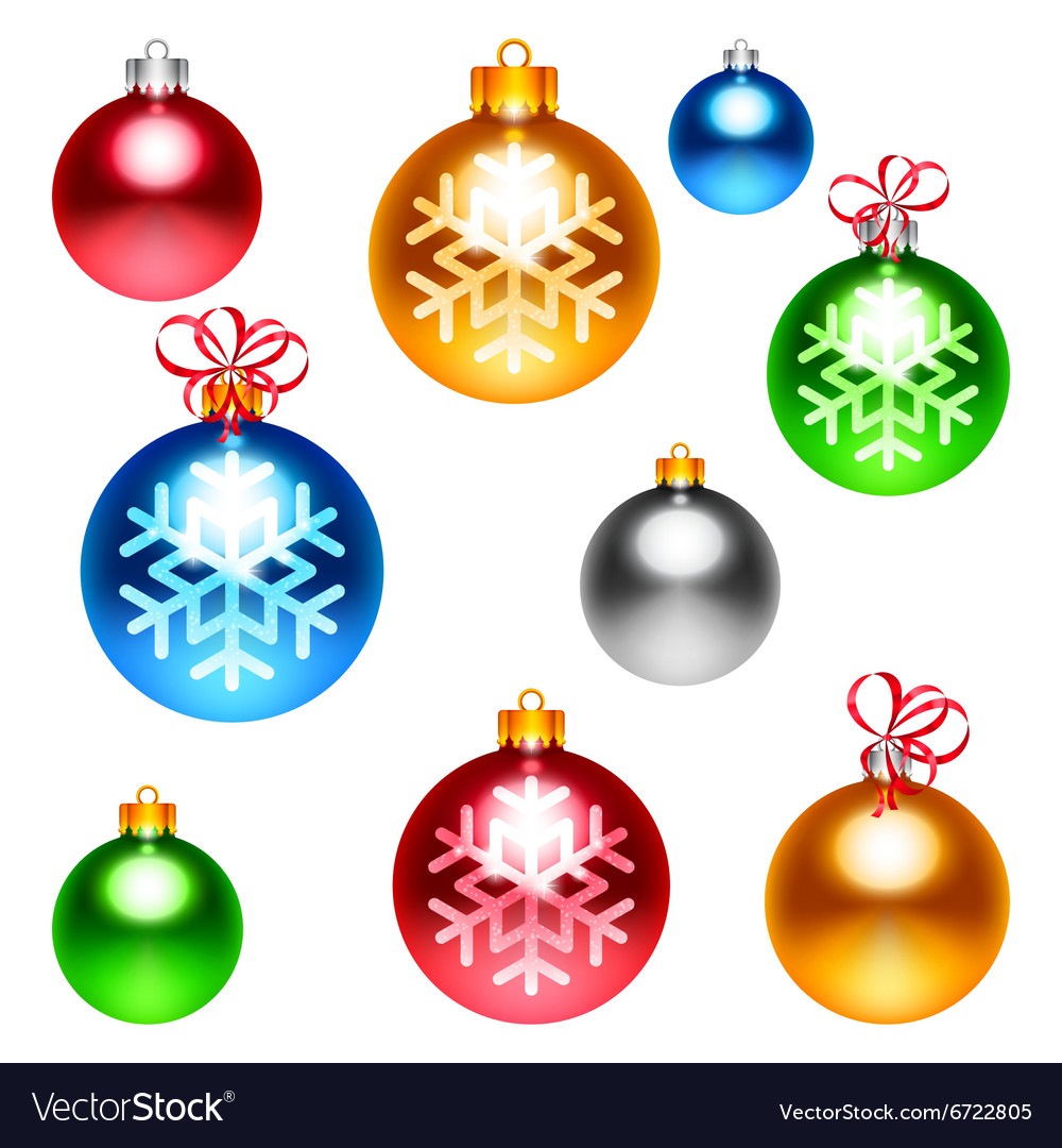 Colorful Christmas Balls.Colorful Christmas Balls