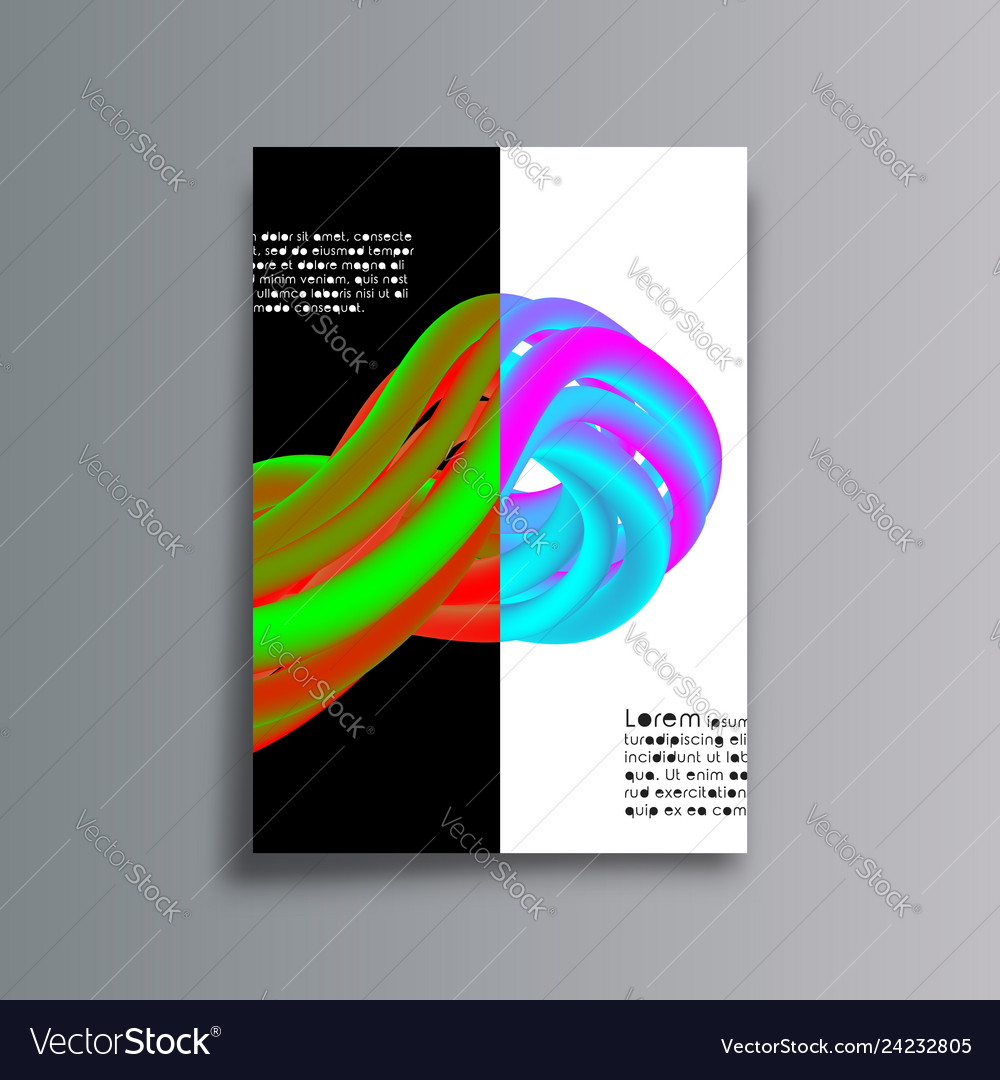Gradient colorful lines cover background for the