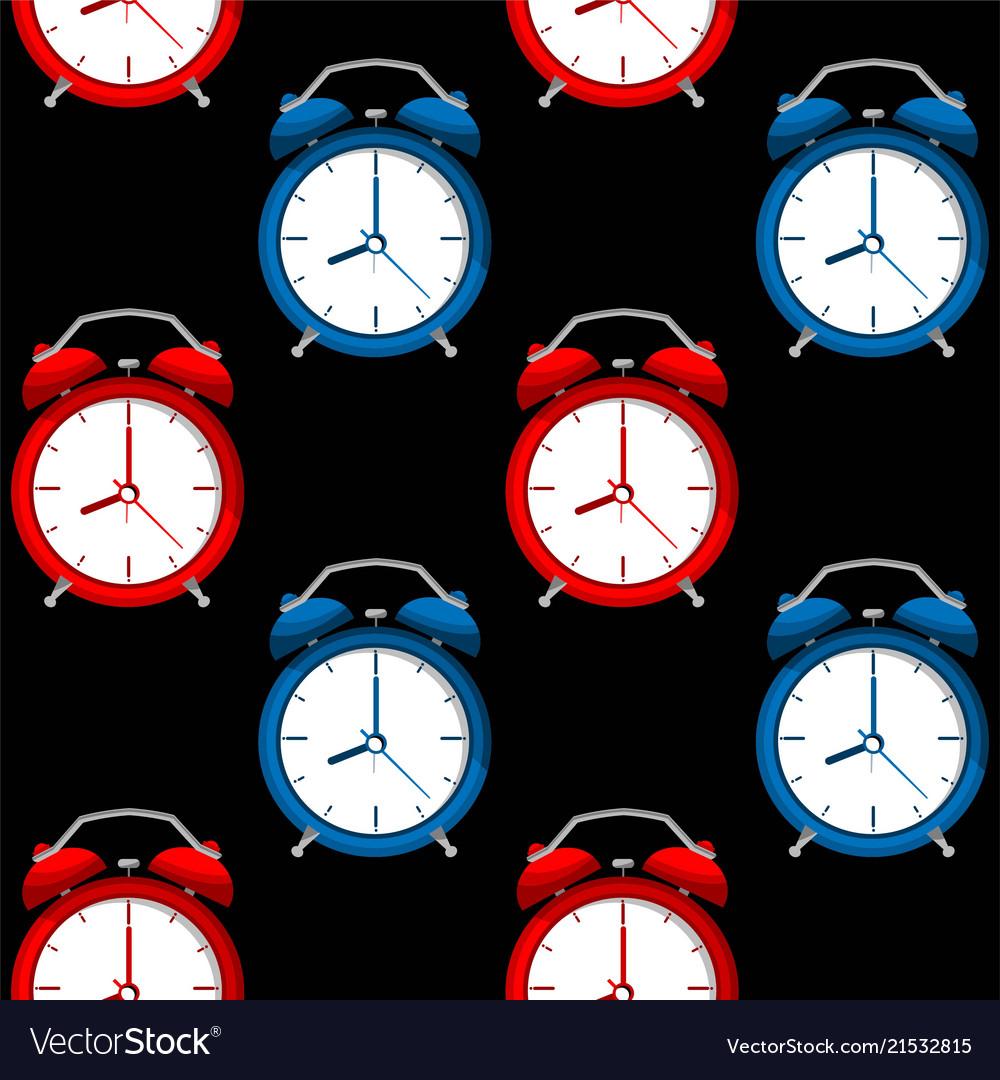 Alarms clock pattern