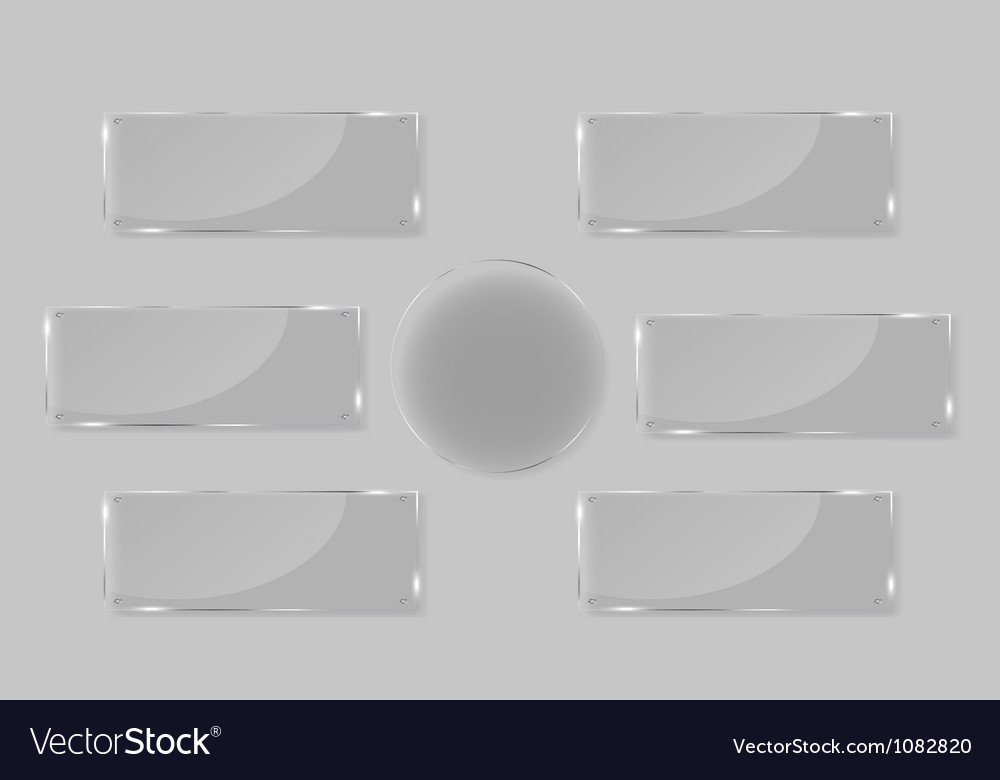White frames in art gallery vector image