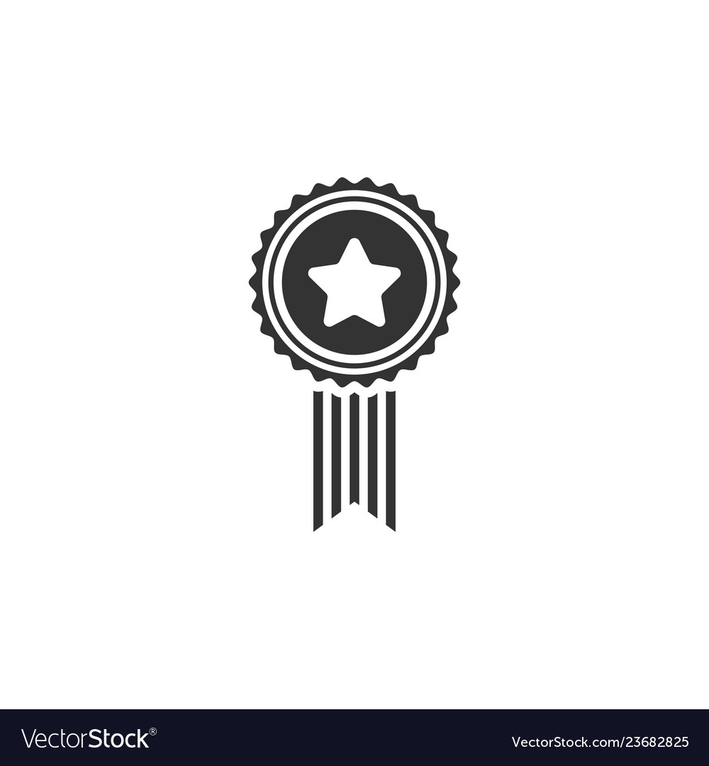 Award medal icon graphic design template