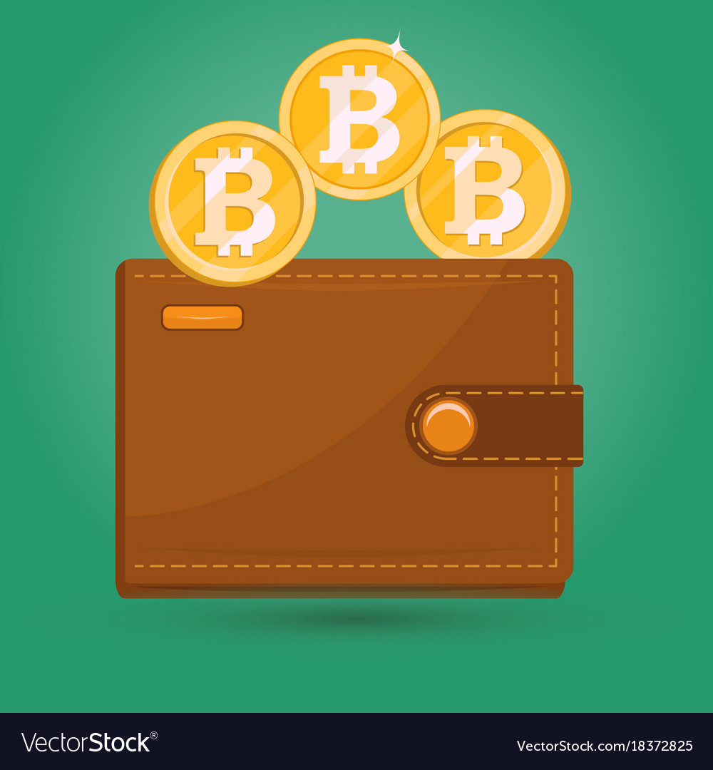 Bitcoin wallet digital crypto currency sign