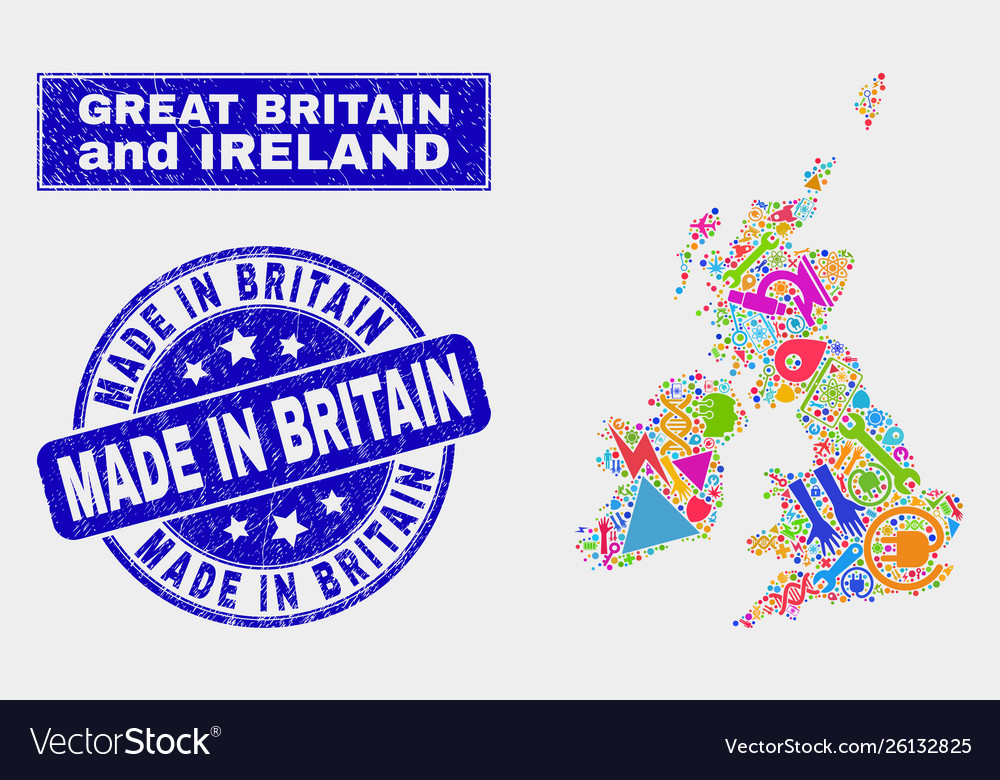 Collage industrial great britain and ireland map on natural resources found in ireland, france map great britain ireland, map s and n ireland, tourism ireland,