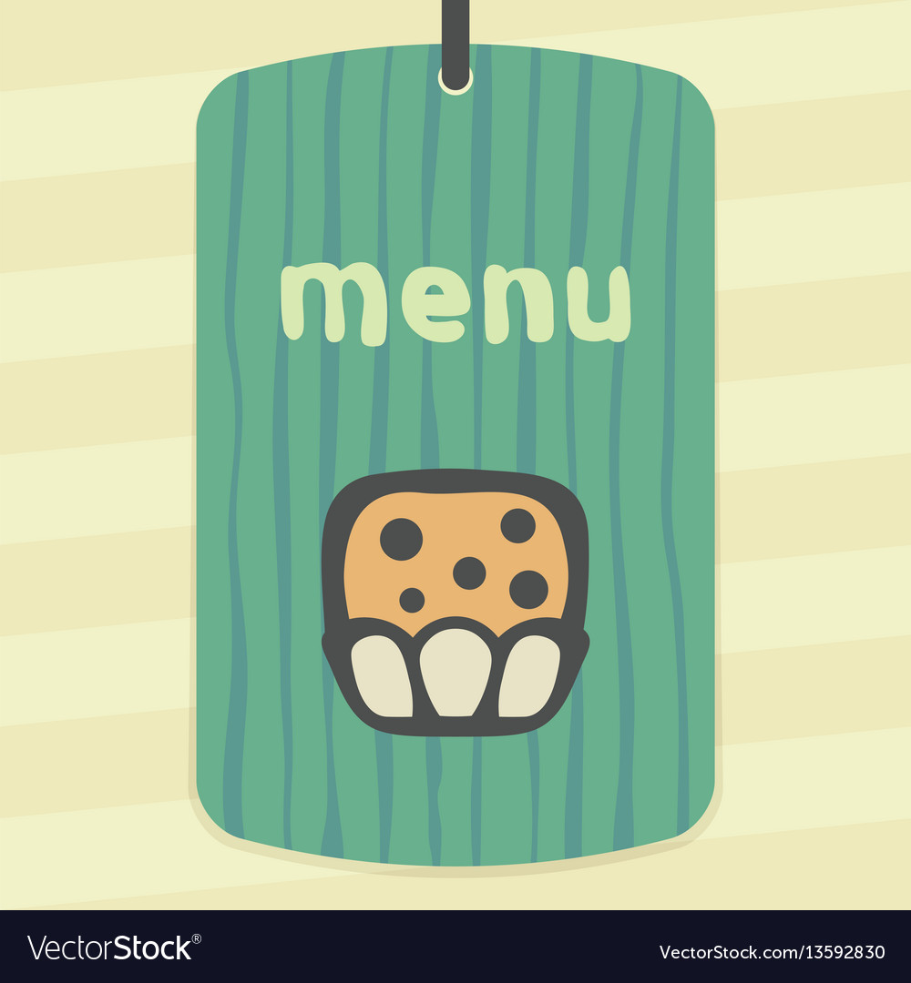 Outline sweet muffin food icon modern infographic