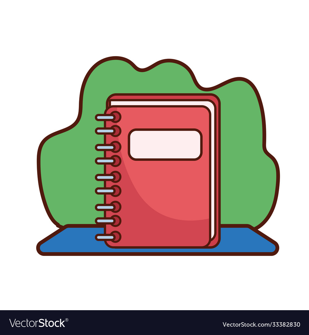 Vector Art - Apple red school. Clipart Drawing gg89355590 - GoGraph
