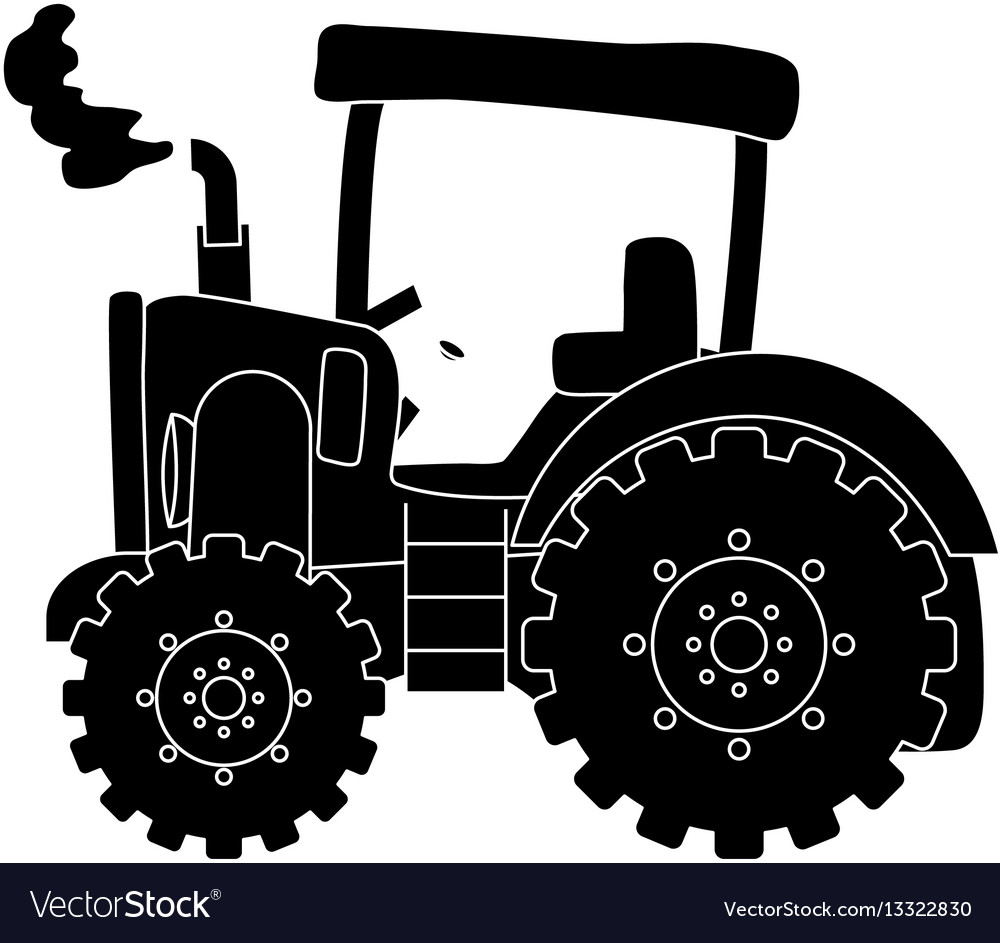 Tractor farm machinery