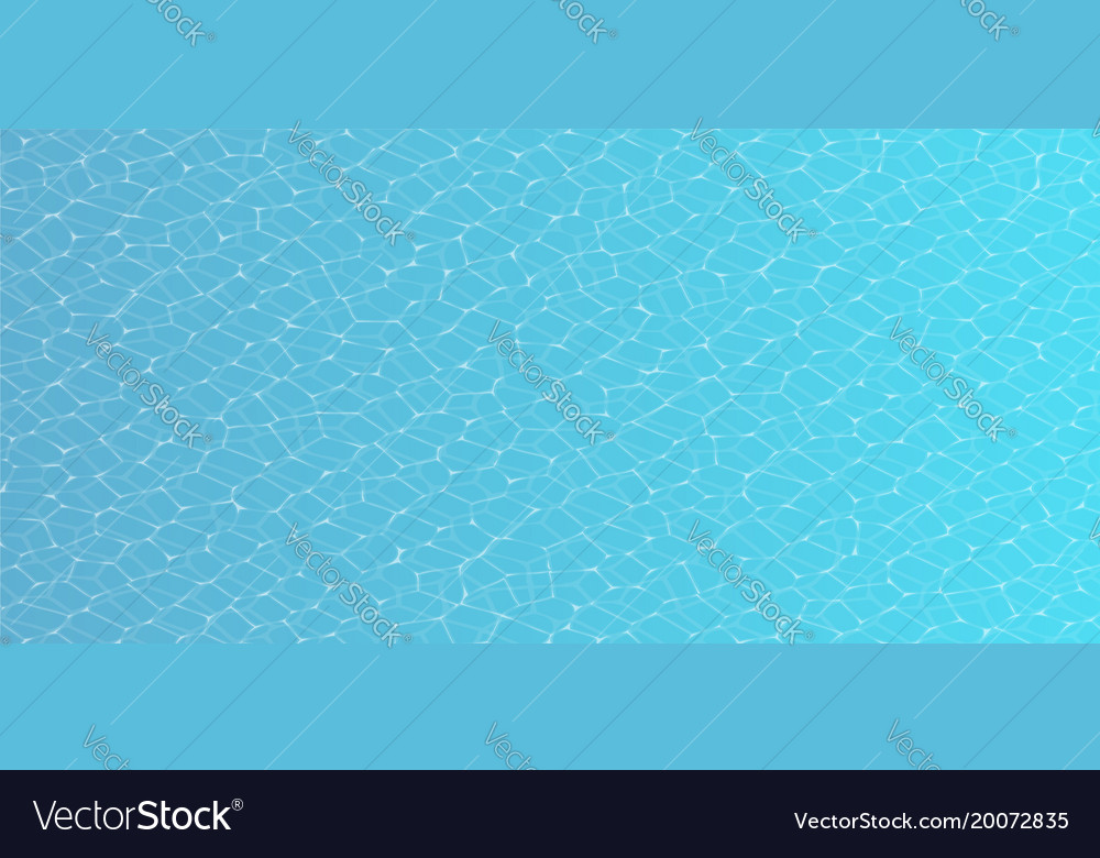 Seamless underwater texture Video Game Water Caustic Of Pool Water Seamless Texture Vector Image Vectorstock Caustic Of Pool Water Seamless Texture Royalty Free Vector