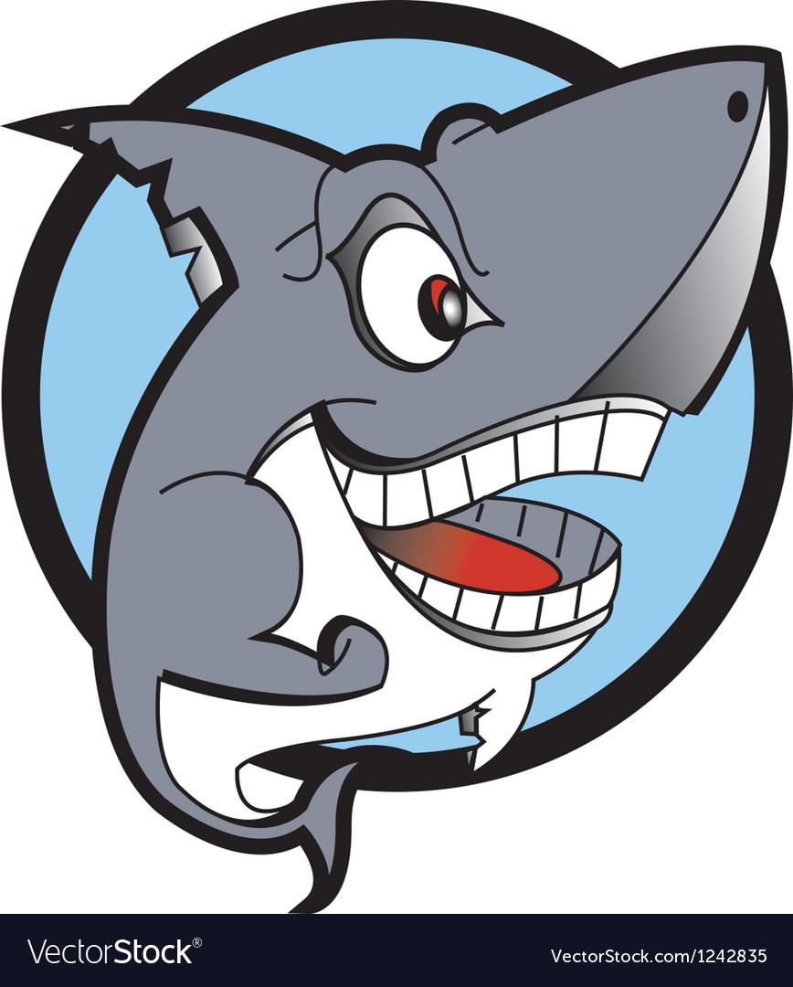Danger shark logo