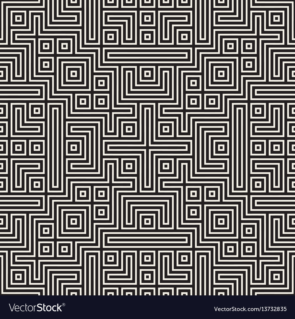 Geometric ethnic background with symmetric lines