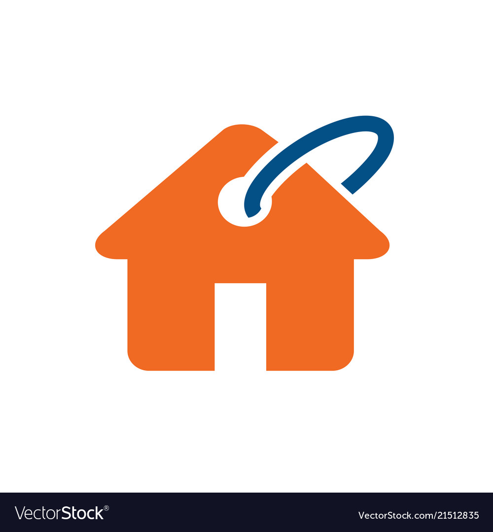 Home buy sell or rent logo icon