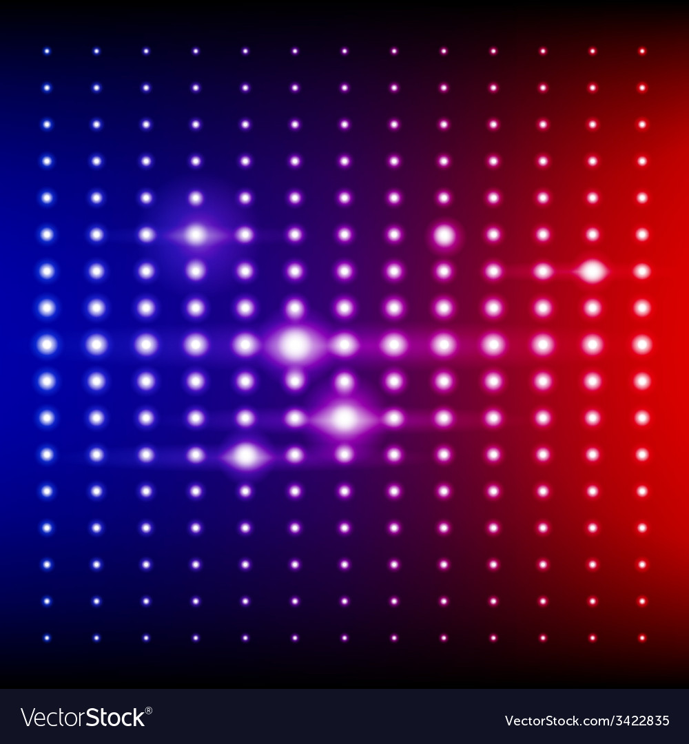 Red Blue And Purple Shining Disco Equalizer Lights Vector Image Images