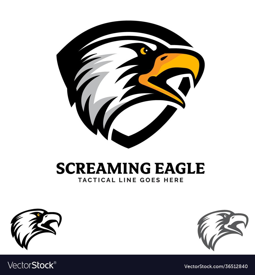 Screaming eagle insignia