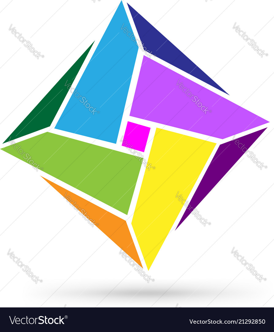 Abstract shape form logo icon