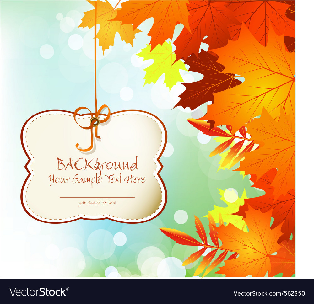 Autumn festive background