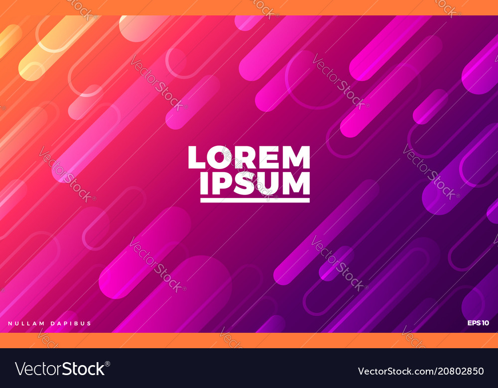 Gradient colorful background dynamic geometric