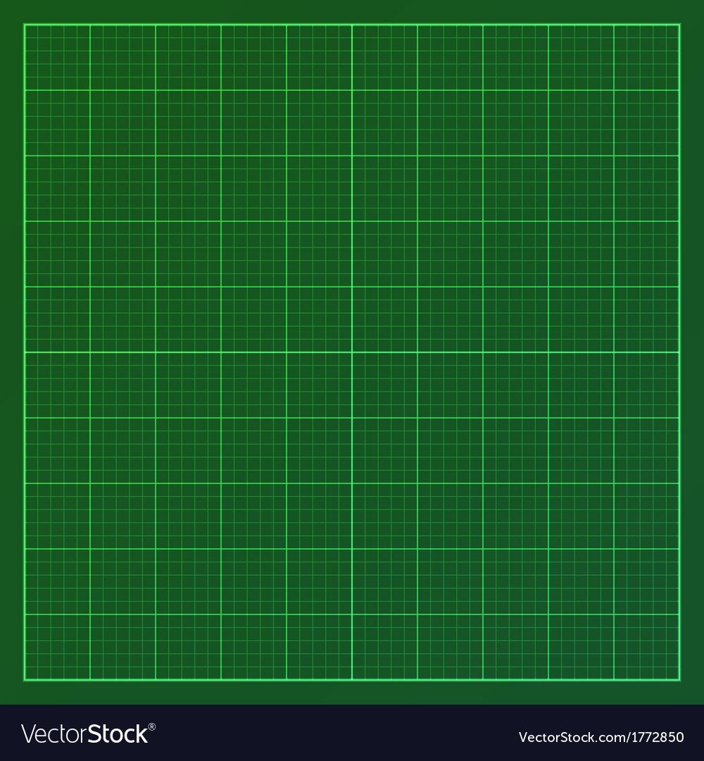 green graph paper royalty free vector image vectorstock
