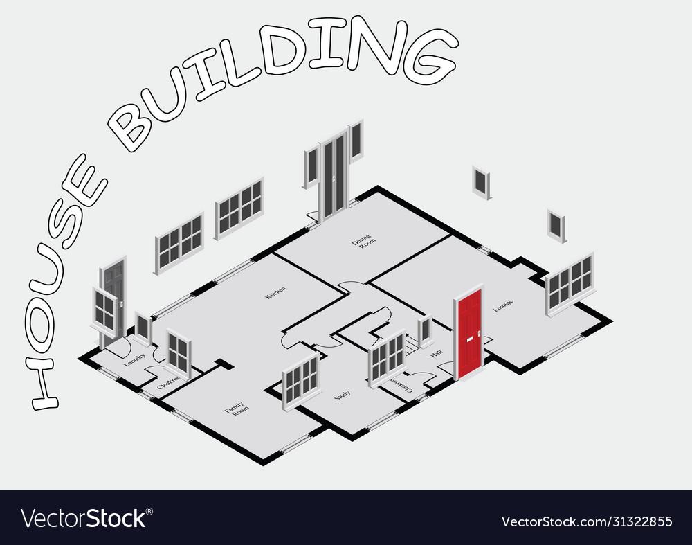 Concept house building