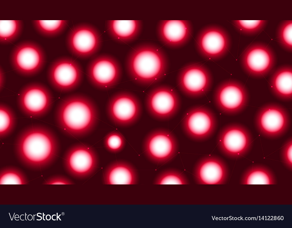 Grid red vector image