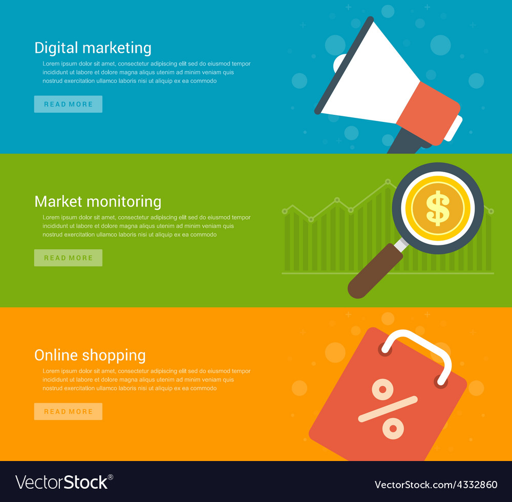 website headers or promotion banners templates and