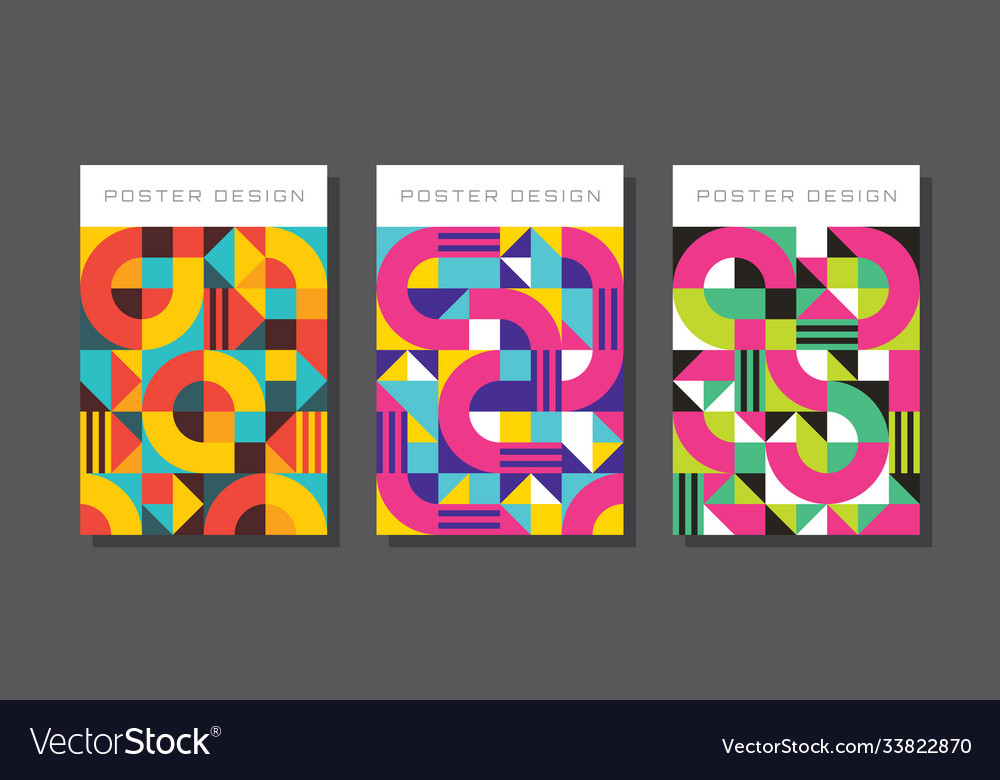 Abstract concept background for poster brochure