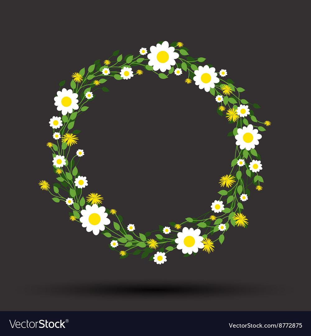Green round flowers