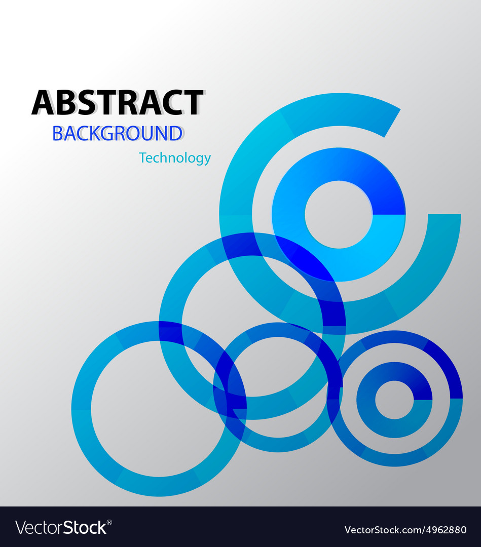 Background Abstract blue loading