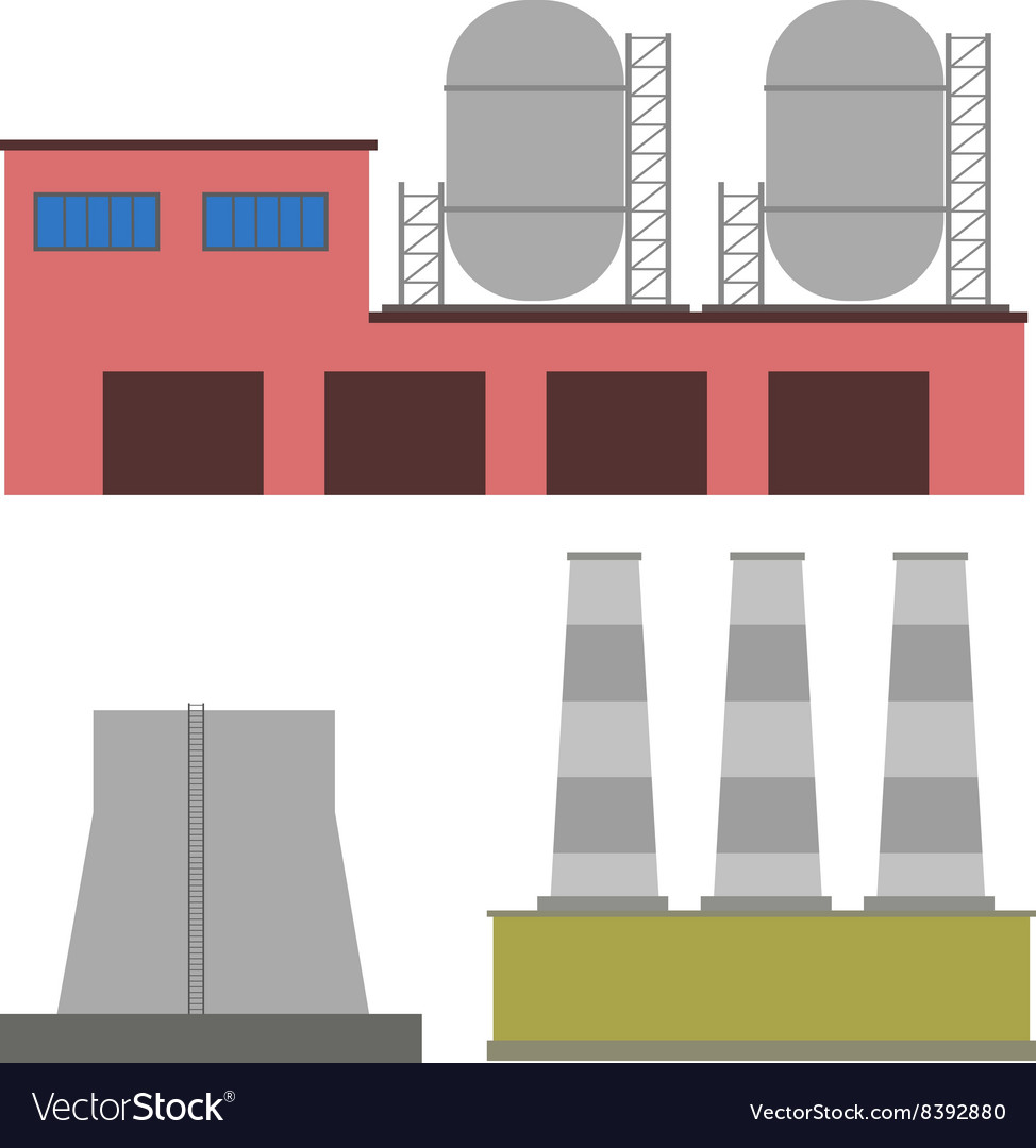 Factory industry manufactory buildings