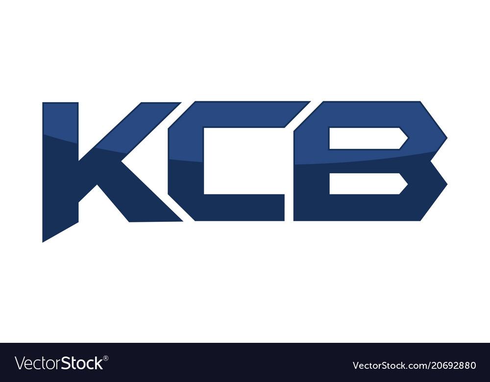 Letter kcb modern