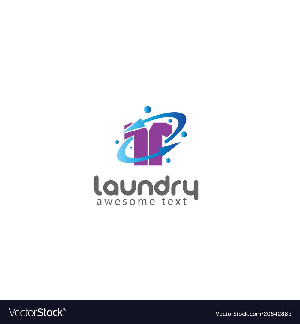 Laundry logo templates