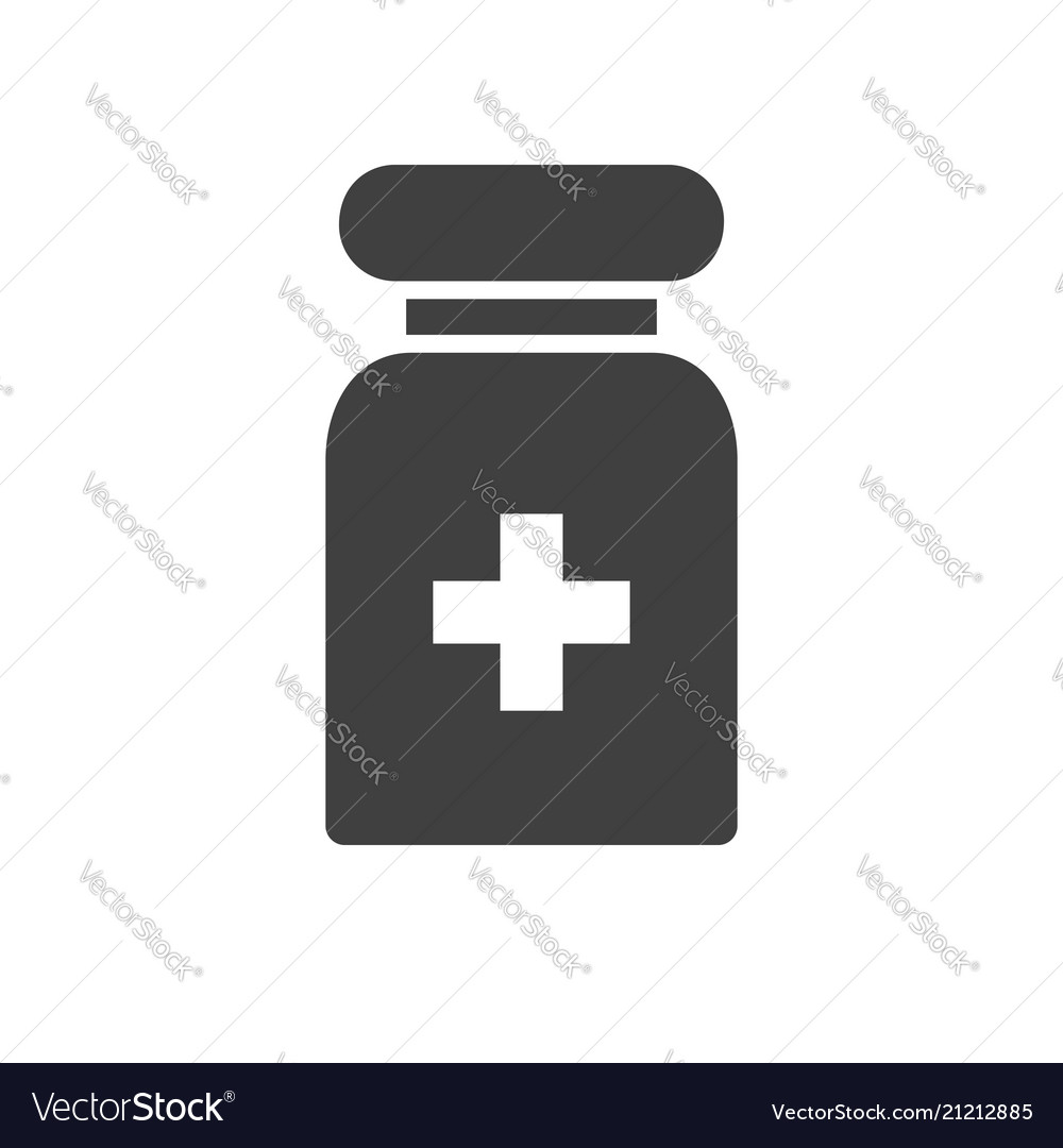 Pills tube related icon
