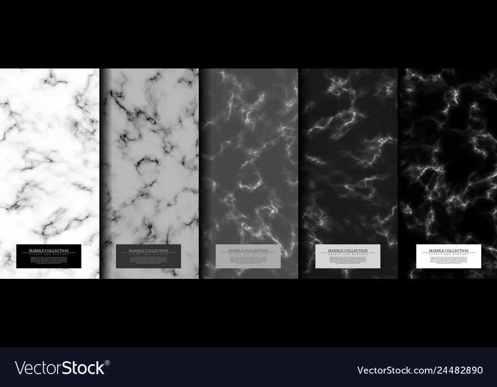 Marble collection abstract pattern texture grey