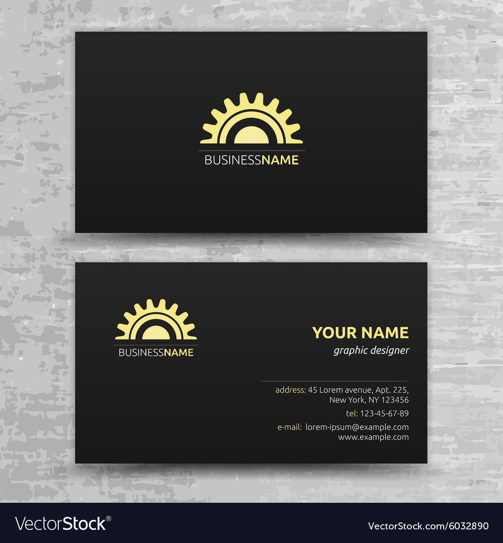 Modern business cards templates set royalty free vector modern business cards templates set vector image reheart Choice Image