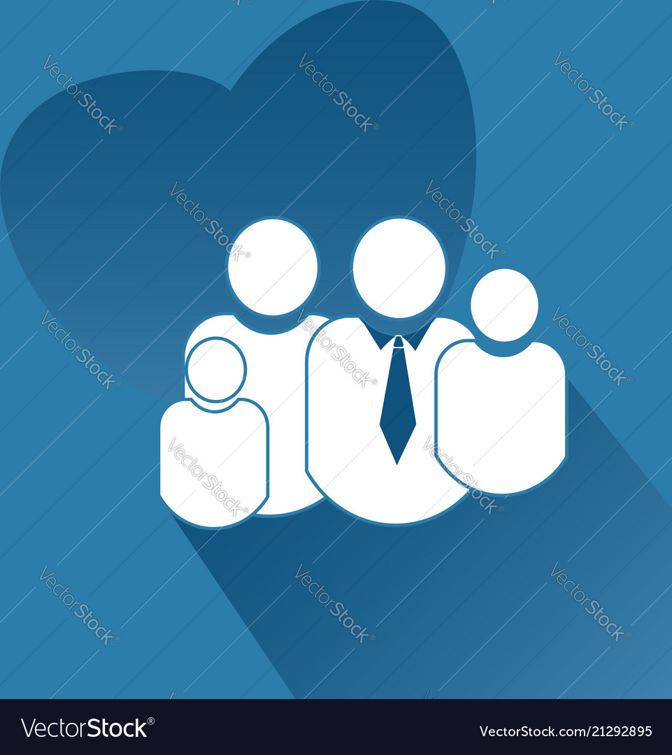 Family people together icon