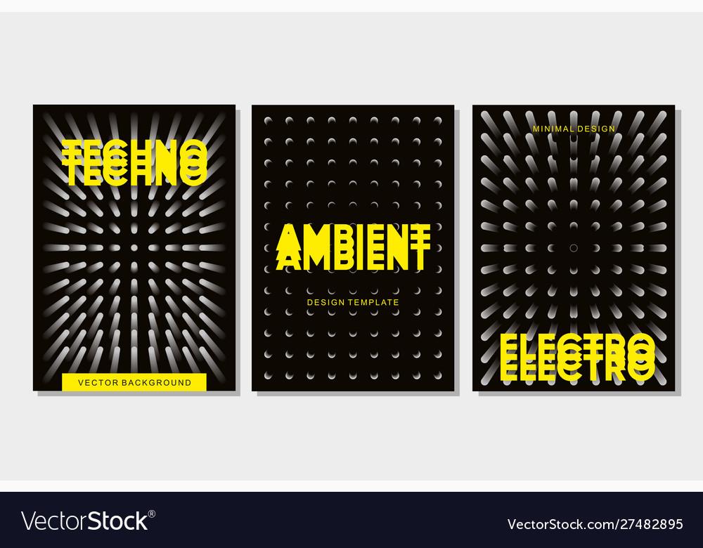 Underground rave electronic festival banner