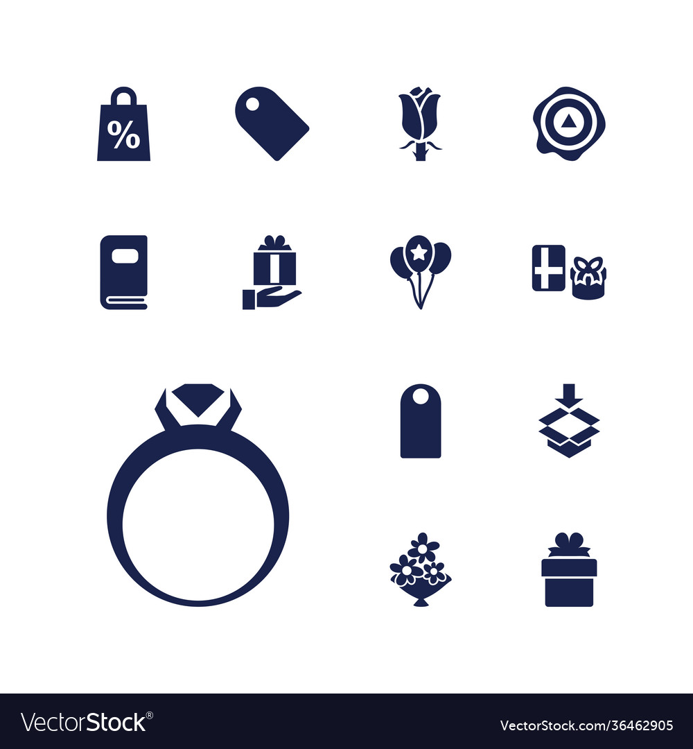 13 gift icons