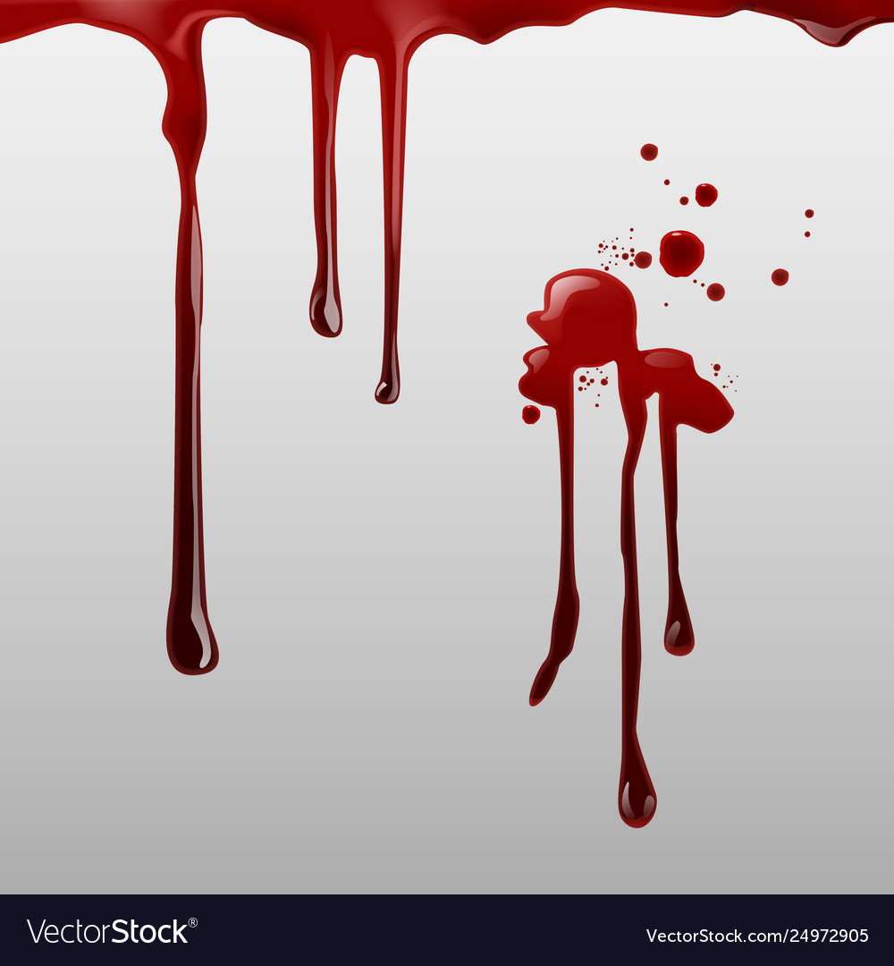 Dripping blood and set of