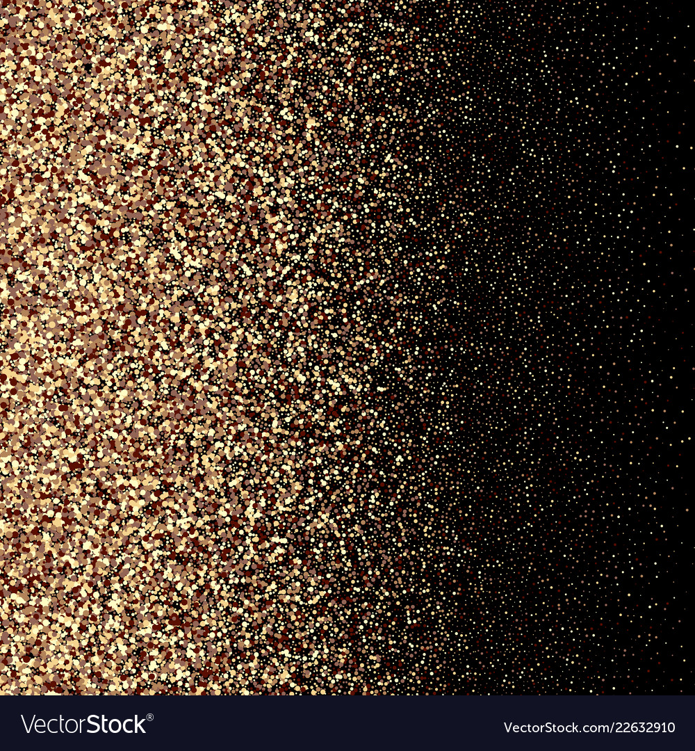 Gold glitter background with sparkle shine light