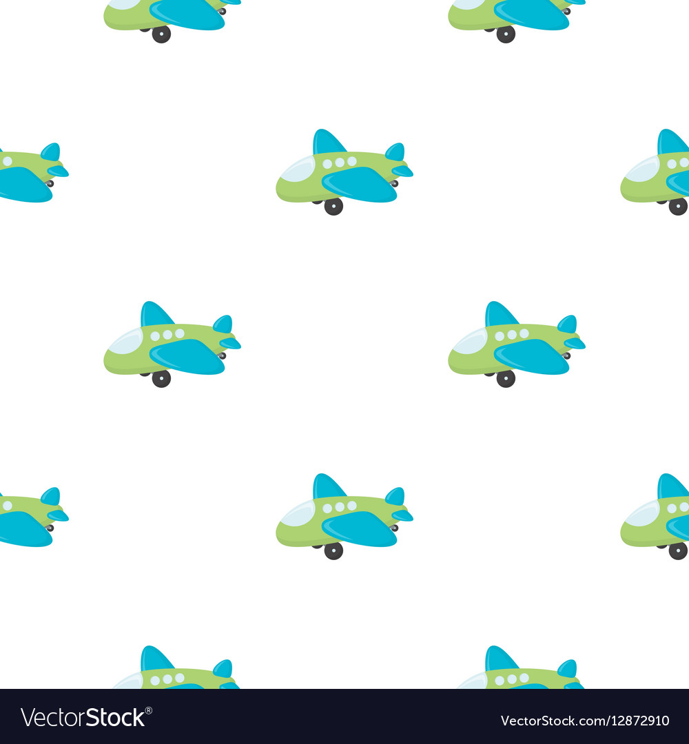 Plane toy cartoon icon for web and