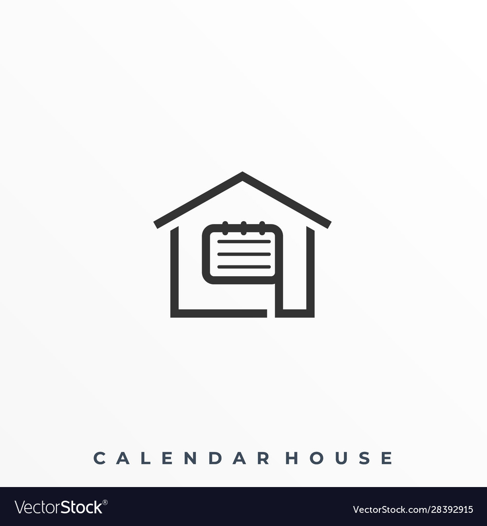 Calender house template