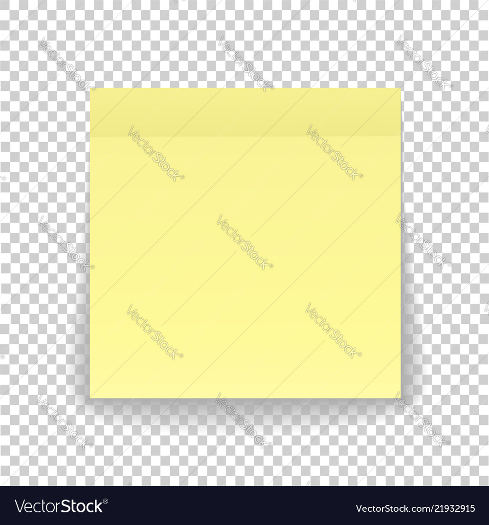 Post note paper sheet or sticky sticker with