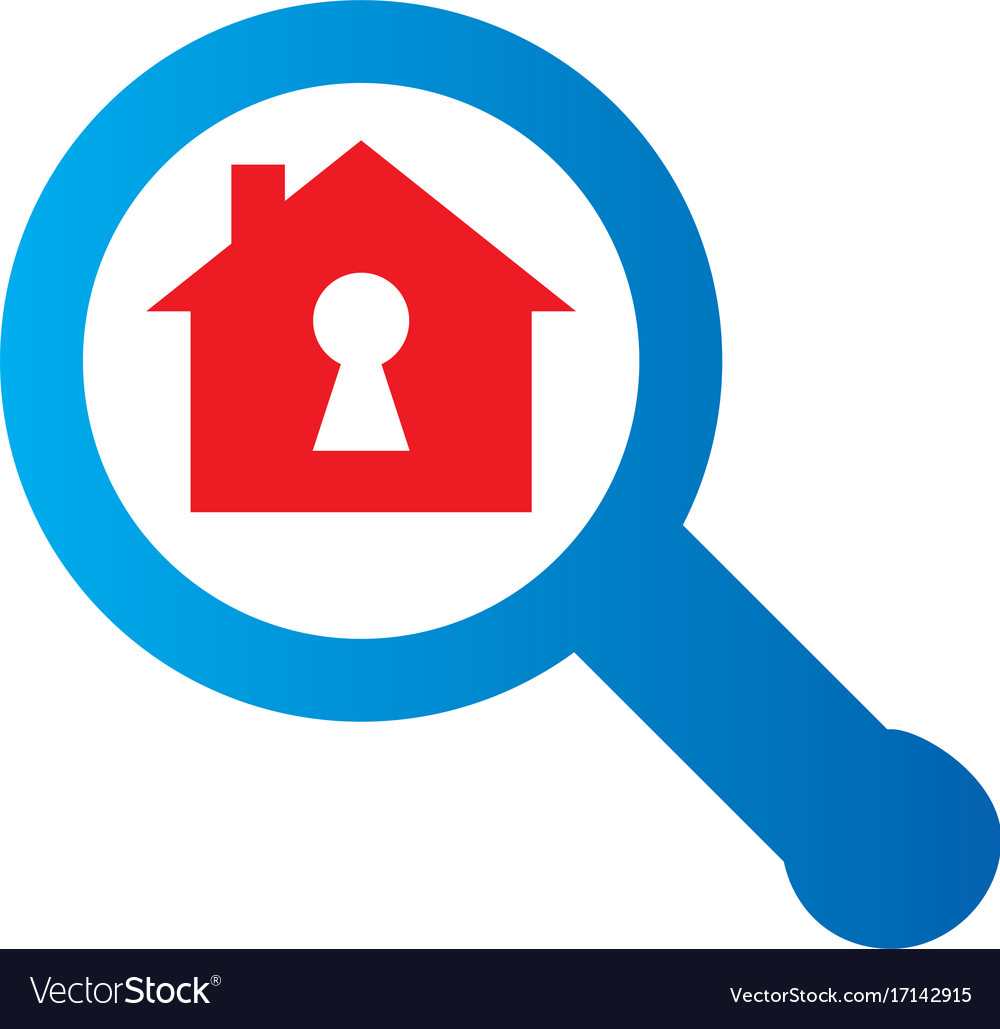 Search secure home logo