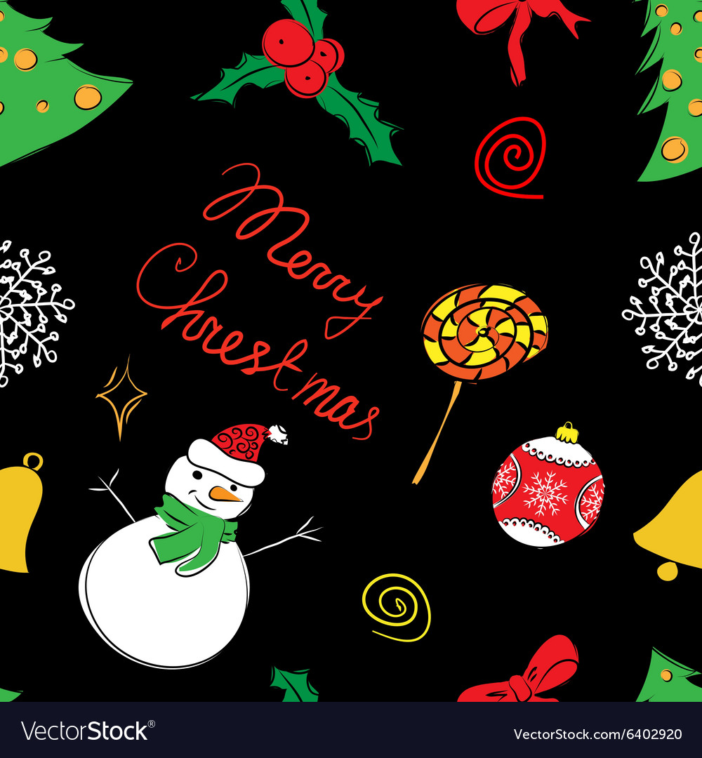 Color pattern of Christmas