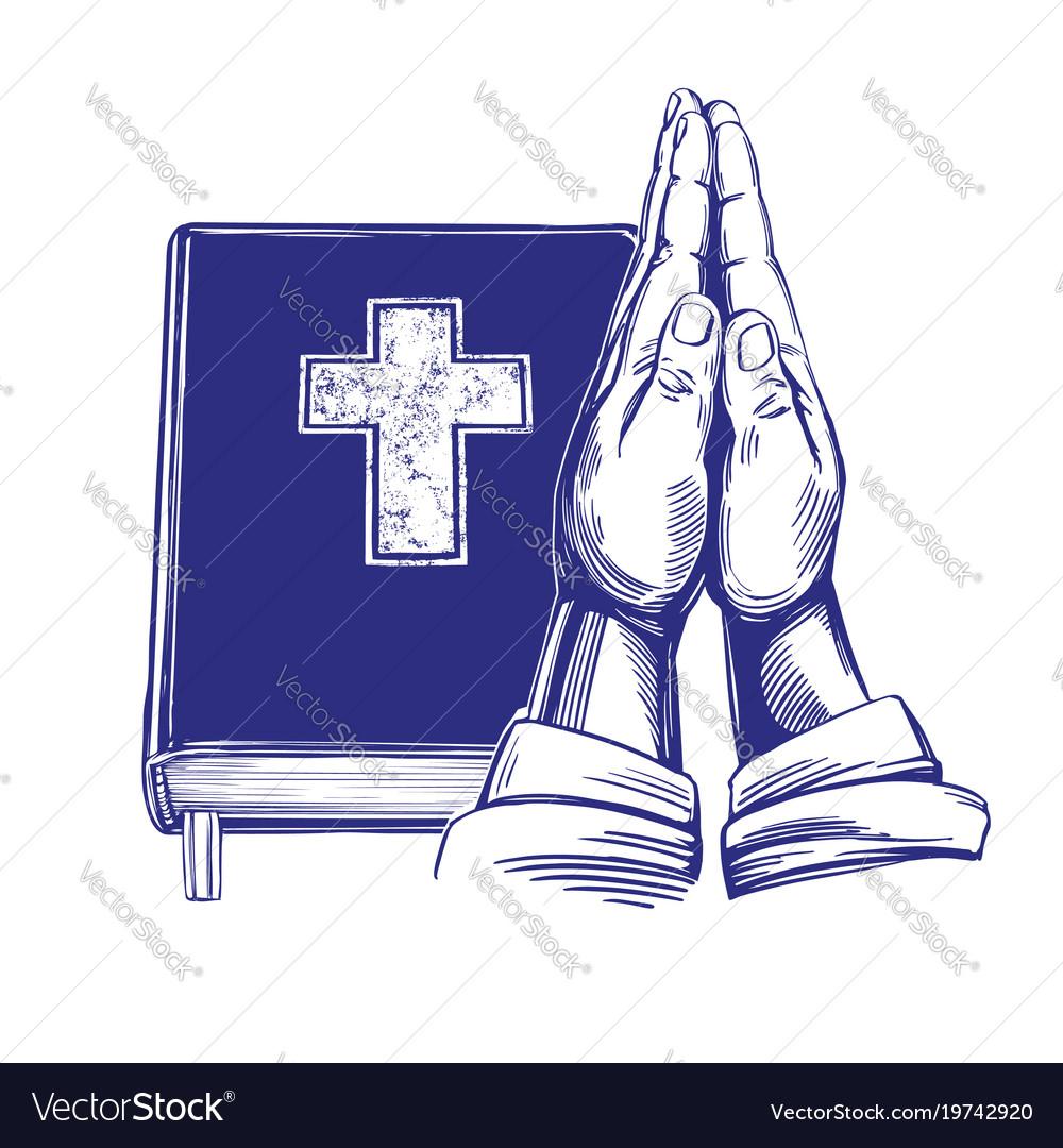 Praying hands bible gospel the doctrine of