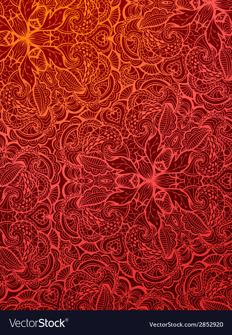 Red vintage background Royalty Free Vector Image