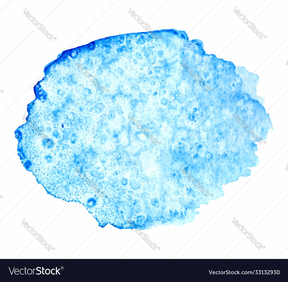 Abstract watercolor blue hand drawn texture